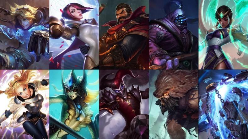 Descuentos de League of Legends y rotación de campeones de la semana 7