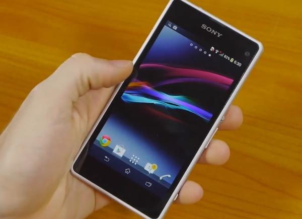 Revisión de Sony Xperia Z1 Compact