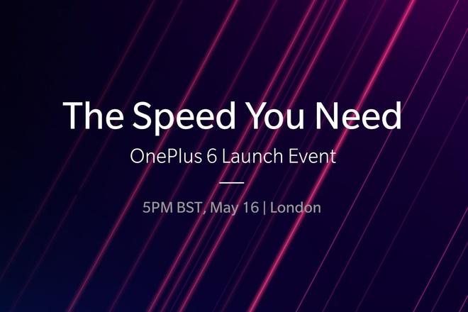 Evento de lanzamiento de OnePlus 6