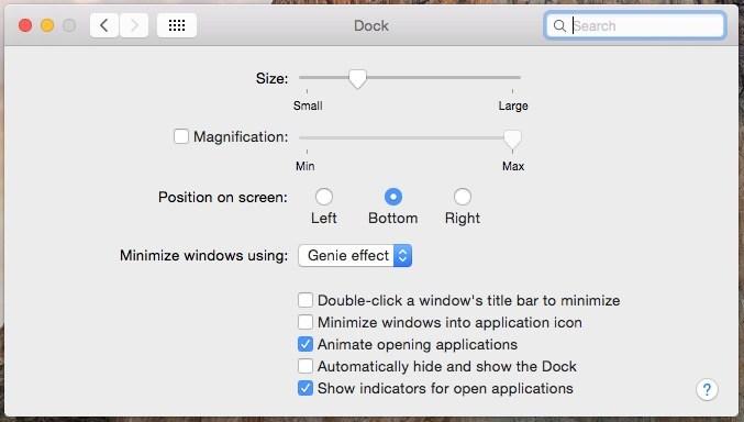 Cómo personalizar el Dock de Mac