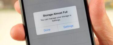 Almacenamiento de iPhone casi lleno: cómo solucionarlo