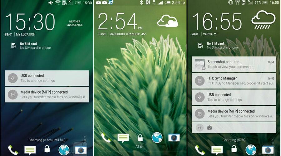 HTC One M8 se actualiza a la última versión de Android: ¿Qué obtienes con Android 5.0 Lollipop? [PHOTO]