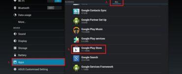 Cómo reparar el error rpc de Google Play Store