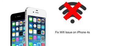 Cómo solucionar problemas de Wifi del iPhone 4s o atenuados o atenuados 1