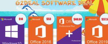 Promoción de verano a gran escala!  Windows 10 Pro solo $ 14 1
