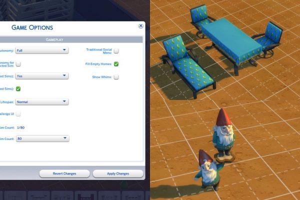 Jugabilidad de los Sims 4