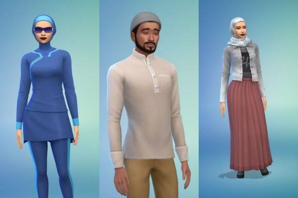 Sims 4 paños musulmanes