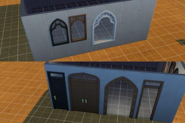 Sims 4 Arquitectura musulmana