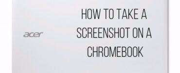 cómo tomar una captura de pantalla en un Chromebook