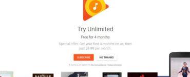 Google ofrece una prueba gratuita de 4 meses de Google Play Music con acceso a YouTube Red